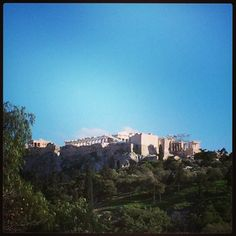 Athens, Seeing Acropoli from Thisio!!!!!!