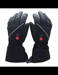 90e23cafc03b4 Savior Heated Gloves with Rechargeable Li-ion Battery Heated for Men and  Women, Touchscreen Waterproof Warm Gloves for Cycling Motorcycle Hiking  Skiing ...