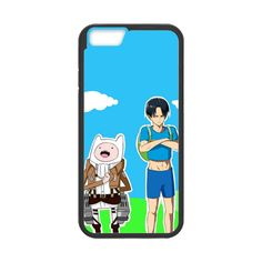 Attack on Titan Adventure Time Crossover Case for iPhone 6