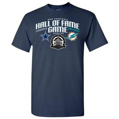 Shop for team apparel and Hall of Fame exclusives in the Pro Football Hall of Fame store. Hall Of Fame Game, Football Hall Of Fame, Team Apparel, Tees, Mens Tops, T Shirt, Clothes, Navy, Shopping