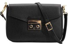 floto leather cross body stachel women's bag sapri black