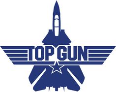 Top Gun Decal 12 Color Choices 6 X 8 by DecalSource on Etsy, $4.00
