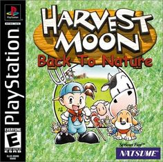 Harvest Moon Back to Nature Playstation Harvest Moon Btn, Harvest Moon Game, Playstation 2, Arcade, Consoles, Videogames, Nintendo, Back To Nature, Sony