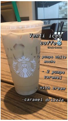 Starbucks Hacks, Café Starbucks, Bebidas Do Starbucks, Healthy Starbucks Drinks, Starbucks Secret Menu Drinks, Iced Coffee Drinks, How To Order Starbucks, Coffee Drink Recipes, Coffee Coffee