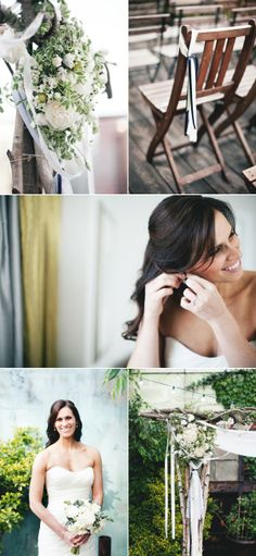 Brooklyn Wedding by Katie Osgood Photography + Rebecca Shepherd Floral Design