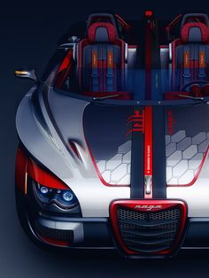 CGTalk - Concept Car (NAGA), Nitin Khosa