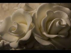 Decorazioni in pasta di zucchero rose ,Cake Decorating flower rose Fondant