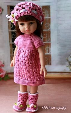 """Комплект для Минуш и Паолки """"Чайная роза"""" / Одежда для кукол / Шопик. Продать купить куклу / Бэйбики. Куклы фото. Одежда для кукол"""