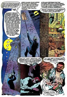 """Chilling Adventures in Sorcery #3, October 1973. Archie Comics. """"The Cat."""" Art and script by Gray Morrow."""
