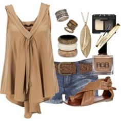 6958087d53e Cute country girl outfit for the summer! Country Girls Outfits