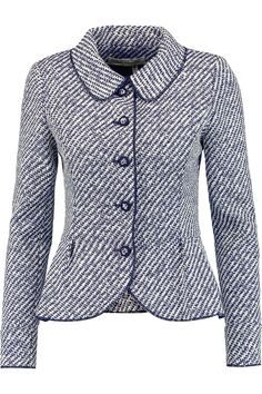 Shop on-sale Oscar de la Renta Two-tone woven jacket. Browse other discount designer Jackets & more on The Most Fashionable Fashion Outlet, THE OUTNET.