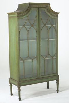 Chinese Chippendale Cabinet - looking for this exact style for my living room.