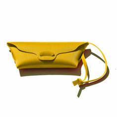 Borsa Bag Raw Yellow by 3AG