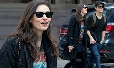 Phoebe Tonkin and Paul Wesley stroll hand-in-hand in New York City