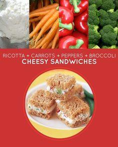 Cheesy Sandwiches