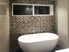 Bathroom Tiles Feature Wall a '70s surprise: encino glass house comes full circle, twice