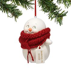 """Department 56: Products - """"About To Unravel Ornament"""" - View Products"""