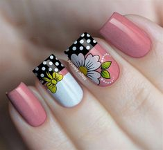 Diseños de Hermosas Uñas Decoradas #uñasdecoradasjuveniles Breakfast For Kids, Finger, Craft Videos, Nail Designs, Nail Art, Jelsa, Beauty, Humidifiers, Hair