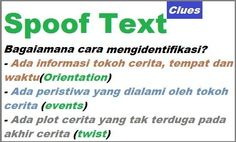 The Differences between Spoof Text and Anecdote Text