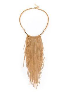VITA FEDE Chain Tassel Necklace
