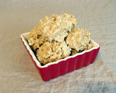 Vanilla oatmeal no bake cookies