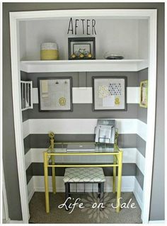 office space in a closet