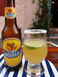 Cerveza Aguila via @CarolStein, Cartagena - Colombia: na bundinha com estilo!