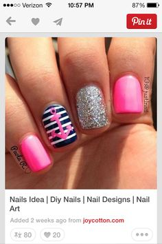 Cute pink take on the sailor theme :)