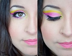 Sailor Chibi Moon inspired make up by http://sweet-cheek.blogspot.co.at/2013/01/make-up-dreamz-sailor-chibi-moon-runde-6.html