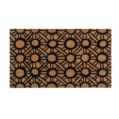 IKEA TINGSTED Door mat Black/natural 40x70 cm   Duct tape several together to do the whole porch? Would look amazing!!