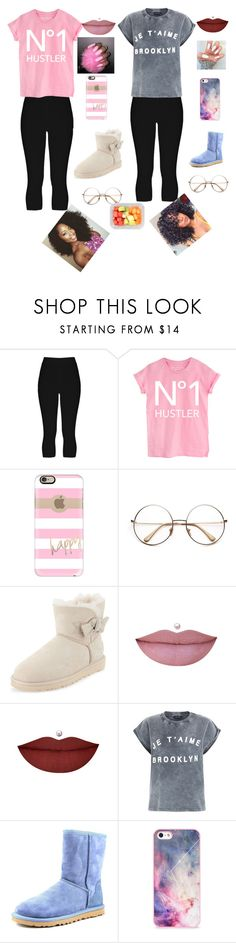 """""""Best friend goals"""" by barbz200 on Polyvore featuring Casetify, UGG Australia, Aime, BlissfulCASE, women's clothing, women, female, woman, misses and juniors"""