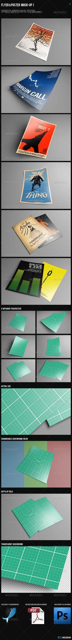 Flyer & Poster Mock-Up I - Flyers Print