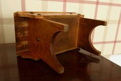 Vintage-table-money-box Money Box, Vintage Table, Stool, Arts And Crafts, The Originals, Storage, Antiques, Furniture, Ebay