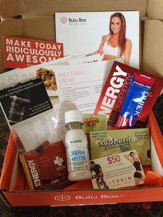 """""""I hadn't gotten a Bulu Box in a while so I thought I would resubscribe and check it out. They now have both the original Bulu Box and a Bulu Weight Loss Box, which I thought I would check out this time."""""""