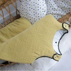 Tissu gaze  coton douceur d'or