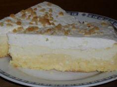 Smetanový koláč s tvarohem připravený bez mouky a cukru! Chutná každému kdo ho ochutná