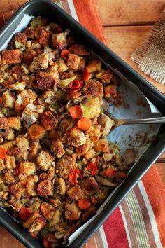Traditional Vegetable Walnut Stuffing » I LOVE VEGAN