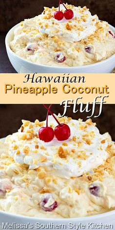Fluff Desserts, Easy No Bake Desserts, Delicious Desserts, Yummy Food, Fruit Recipes, Sweet Recipes, Dessert Recipes, Cooking Recipes, Dessert Salads