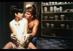 "Patrick Swayze & Demi Moore in ""Ghost"", 1990"