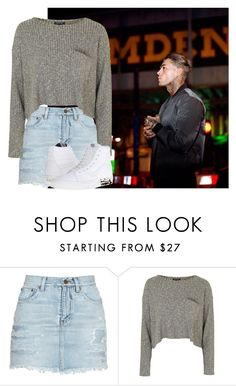 """Unbenannt #661"" by princesss1994 ❤ liked on Polyvore featuring Yves Saint Laurent, Topshop and Vans"