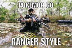 Ranger style!