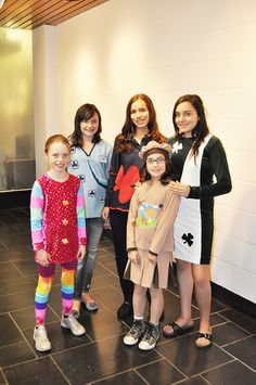 Group shot: Vision of Girl Guide Uniforms in 2060 by Girl Guides of Canada, via Flickr