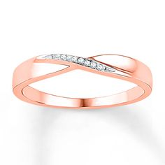 I love this!! Is it bad that I may go with this as my wedding ring? Love the rose gold and the twist design.