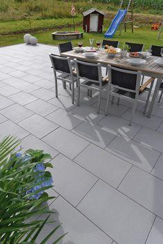 Terrassengestaltung mit giona terrassenplatten in der for Terrassengestaltung obi