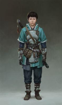 ArtStation - 少年男主角, Dapeng Chen