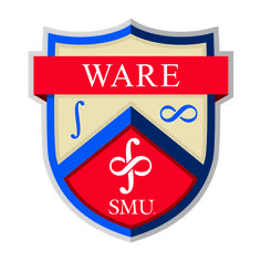 """The Ware Residential Commons crest is made up of three distinct symbols. The first being the integral symbol on the left side of the crest... The next symbol was the infinity symbol on the right... The two symbols were then put together in one representation of the Infinite Integral, which is the official symbol of Ware Residential Commons.""  Follow the link to read the rest!"