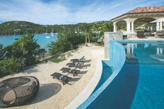St. John Island Pool View - Luxury Pools + Outdoor Living