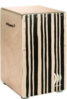 Schlagwerk CP560-ST Agile Cajon - Pro - Zebra Finish - Soft Touch