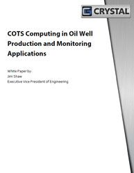 COTS Computing in Oil Well Production and Monitoring Applications : White Paper Network Switch, Cots, Latest Technology, Big Data, White Paper, Wellness, Letters, Cot, Letter