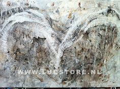 TITLE: LOVE MADE OF IVORY 2009  SIZE : 140X100  MATERIAL : MIXED MEDIA ON CANVAS